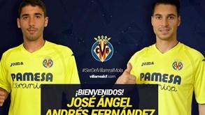 Villarreal tem opção de compra sobre Andrés Fernández e Ángel
