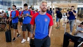 Aí está o novo Messi (não, não é montagem...)
