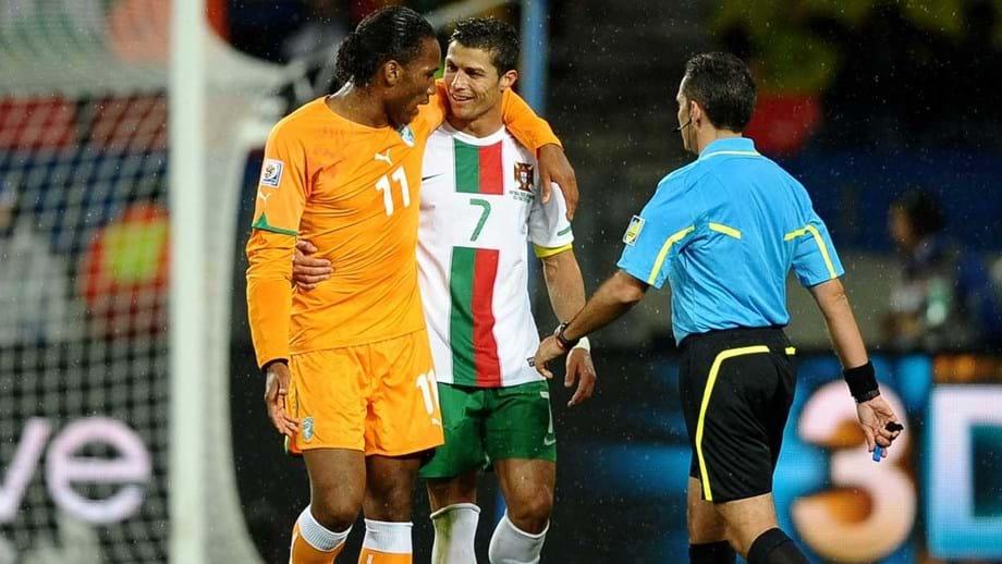 Drogba  «Ronaldo é um verdadeiro br   líder e merece a Bola de Ouro ... 86038af66d7b4
