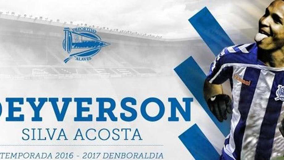 3c7a07a717 Levante empresta br   Deyverson ao Alavés - Espanha - Jornal Record