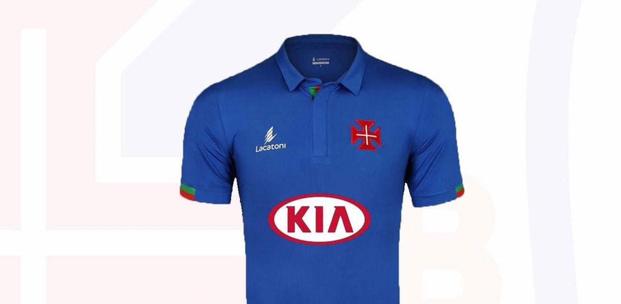 1   2 Camisola do Belenenses com homenagem à Seleção Nacional 1b577c6e7c438