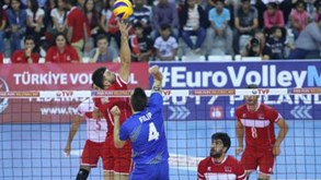 Turquia vence Portugal na 1.ª mão do playoff para o Euro