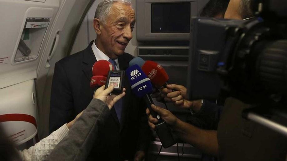 Marcelo Rebelo de Sousa: «Enche de orgulho todos os portugueses»