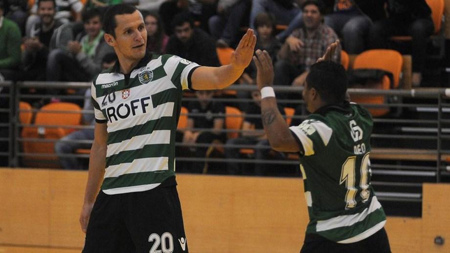 Sporting goleia Fundão e chega à liderança do campeonato - Futsal ... 49eb6b16a3a81