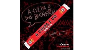 Águias lançam cachecóis com...  A culpa é do Benfica  - Benfica ... 534dfcb17f950