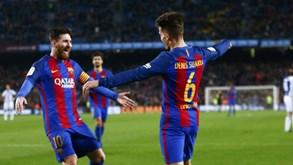 Barça goleia (5-2) Real Sociedad em noite de grande eficácia