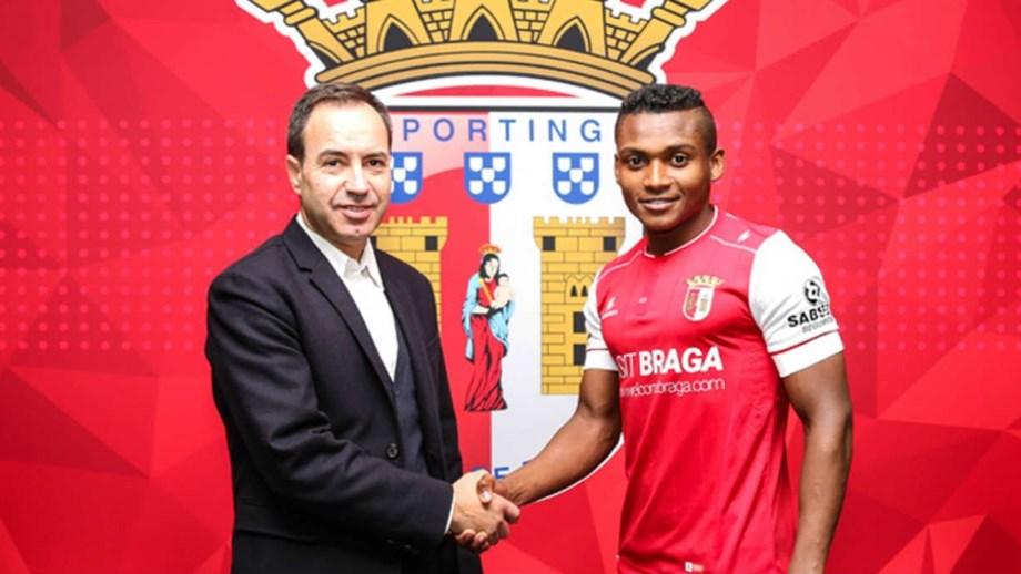 Presidente António Salvador deu as boas-vindas ao novo recruta de Jorge Simão
