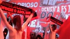 'Ferrenha' Cláudia Vieira fez a festa na gala do Benfica
