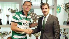 Rodolfo Fortino renova contrato com o Sporting