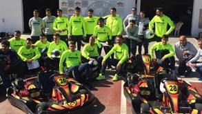 Jogadores do Villarrealforam andar de karts e... acabaram a fazer teste antidoping