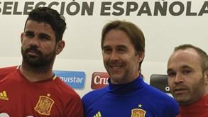 Lopetegui: «Gostamos que Diego Costa esteja um pouco irritado»