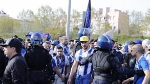 Como a polícia acompanhou os adeptos do FC Porto