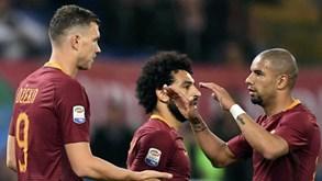 Roma vence e encurta à diferença para a Juventus