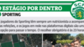 O estágio do Sporting por dentro