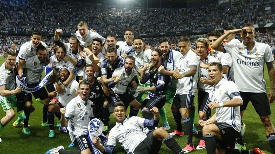 Real Madrid sagra-se campeão espanhol - Espanha - Jornal Record d71822c215ee0