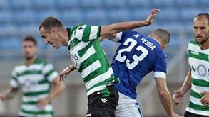 Sporting frente ao Belenenses: Petrovic recupera o tempo perdido