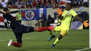 Costa Rica e Canadá entram a ganhar na Gold Cup