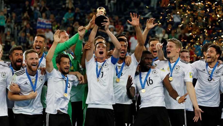 16ea1d811fef1 Alemanha conquista Taça das Confederações pela primeira vez - Taça ...