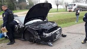 Irmão de Messi sofre acidente de viação