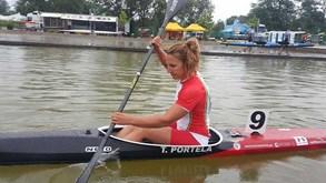 Teresa Portela feliz com duas finais de K1 e o décimo lugar em K4 500