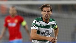 Adrien entre os 20 convocados do Sporting para a receção ao Estoril