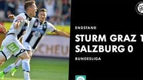 Áustria: Salzburgo perdecom o Sturm Graz