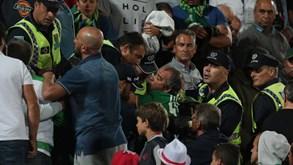Vilacondensesdenunciam agressões por parte de adeptos do Benfica