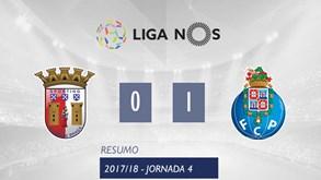 O resumo do Sp. Braga-FC Porto (0-1)