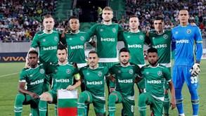 Bulgária: Ludogorets empata na receção ao Pirin