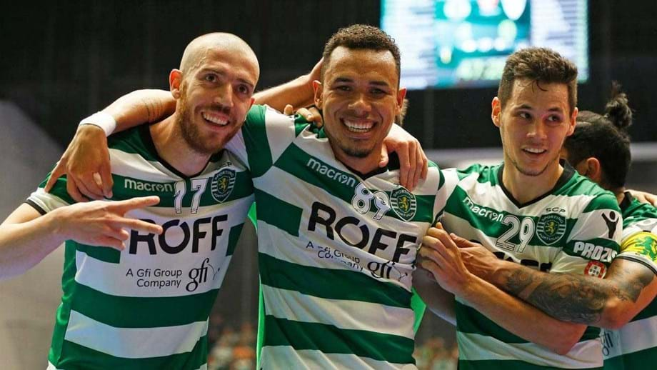 Sporting vence no Fundão (1-3) - Futsal - Jornal Record be4d8deb8578e