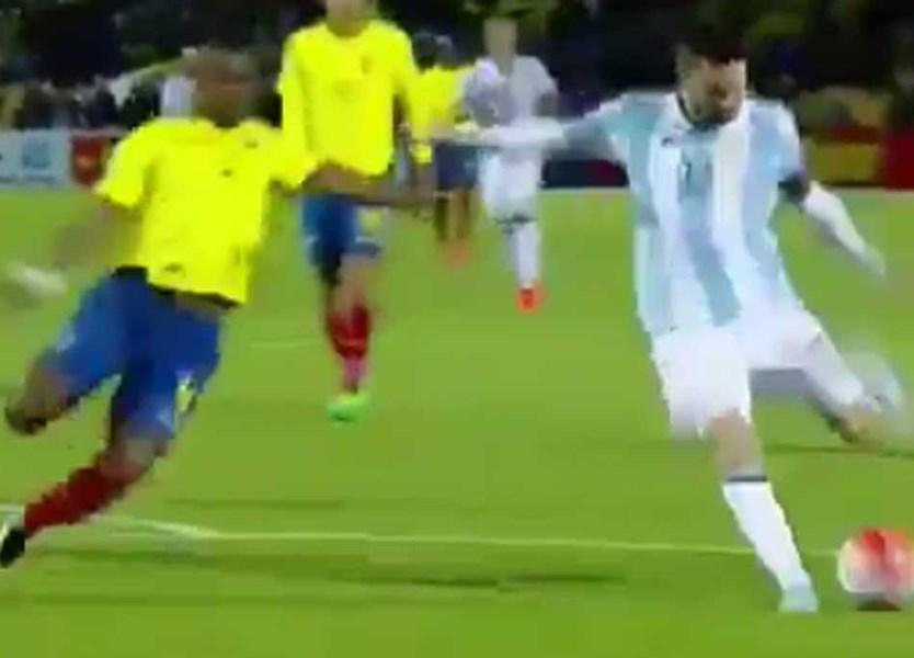 3e010bfd5b Os três golos que fizeram de Messi herói e colocaram a Argentina no Mundial  - Vídeos - Jornal Record
