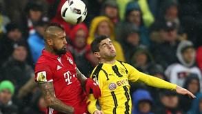 Borussia Dortmund-Bayern Munique: Liderança em jogo