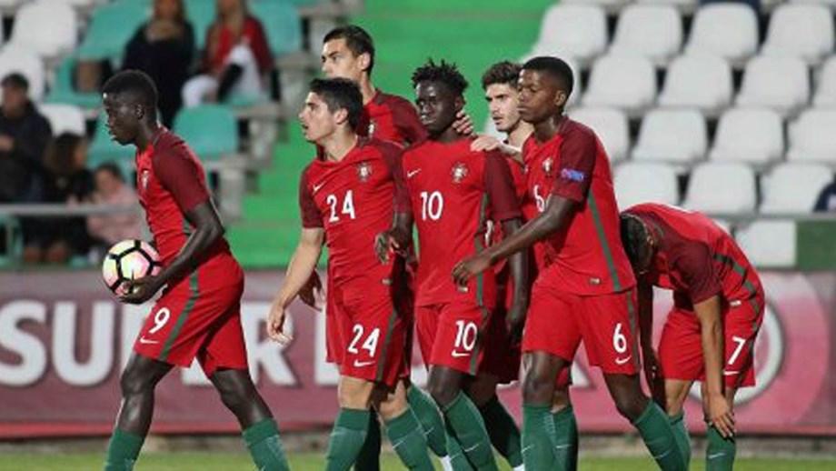 Portugal derrota Espanha em jogo de preparação - Sub19 - Jornal Record 9e9a1d0502dc4