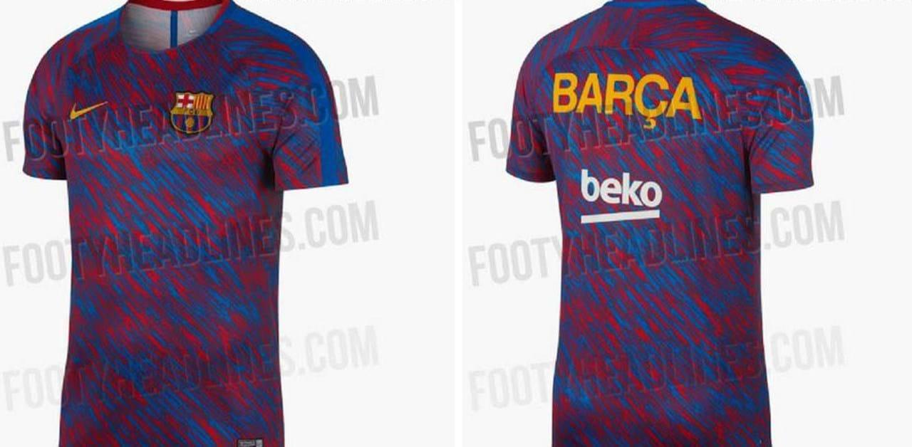 A camisola do Barcelona para 2018 19 que está a surpreender ... d8e821fd786f2