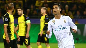Real Madrid-Borussia Dortmund: Alemães determinados contra espanhóis a cumprir calendário