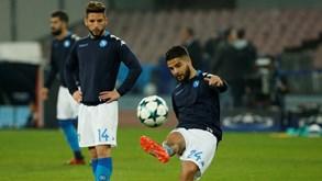 Feyenoord-Nápoles: Esperança italiana passa pela Holanda