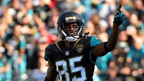 San Francisco 49ers-Jacksonville Jaguars: Registos opostos em campo
