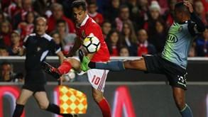 V. Setúbal-Benfica: Águias jogam para aquecer antes do dérbi