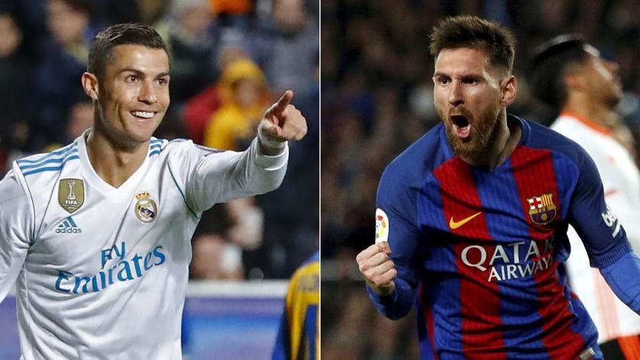 Ronaldo ou Messi  qual deles marca mais  - Espanha - Jornal Record 14aa2232ef121