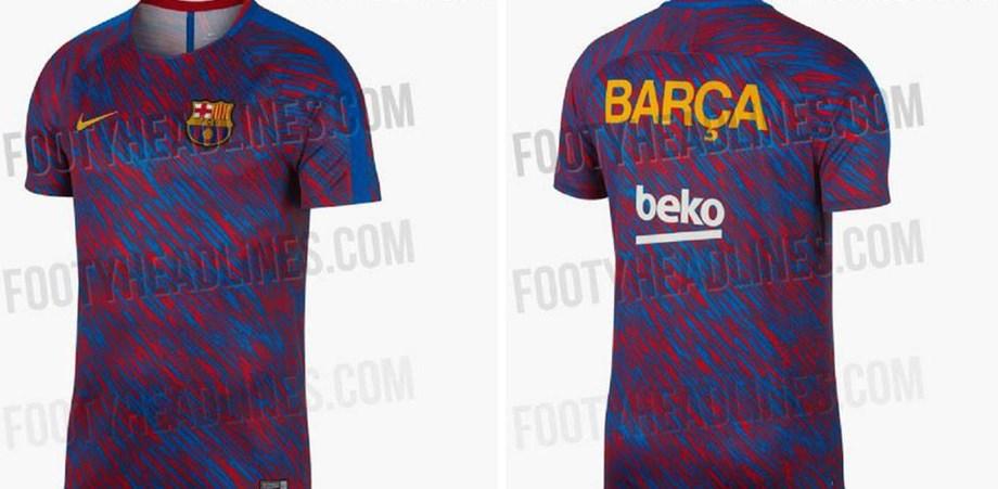 A camisola do Barcelona para 2018 19 que está a surpreender ... 257e3495732f2