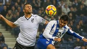 FC Porto-V. Guimarães: Dragões e conquistadores voltam a medir forças