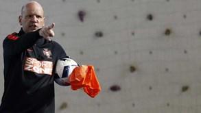 Jorge Braz e os objetivos para o Europeu: «Ficar abaixo do 3.º lugar é impensável»