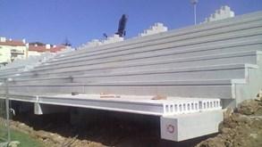 Bancada do Estoril foi construída há pouco mais de três anos