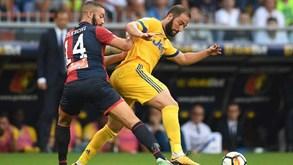 Juventus-Génova: Velha Senhora tenta meter a quinta