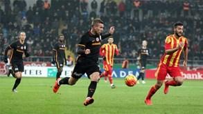 Kayserispor-Galatasaray: Deslocação perigosa para os leões de Istambul