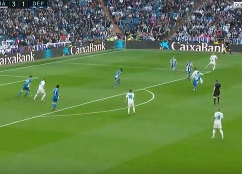 Cristiano Ronaldo com assistência mágica para Modric - Vídeos - Jornal  Record 170359af70ced