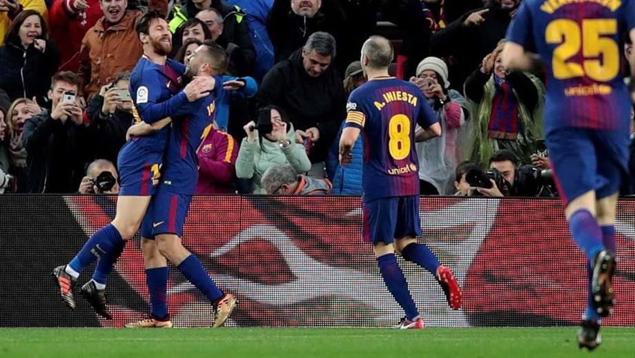 Barcelona supera Levante no jogo 400 de Messi - Espanha - Jornal Record b1a1956f20d26