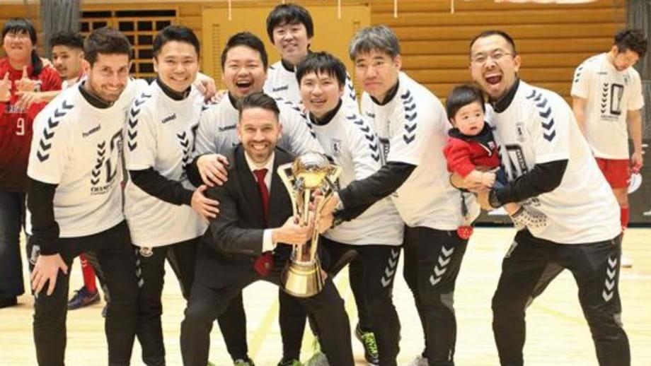 Pedro Costa sagra-se campeão no Japão - Futsal - Jornal Record e0837ce1e39b7