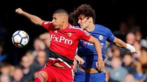Watford-Chelsea: Jornada encerra na segunda-feira