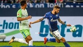 Schalke 04-Wolfsburgo: Com o objetivo de calçar as 'meias'